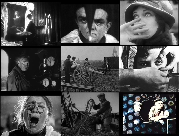 Avant-garde films: The Fall of the House of Usher (1928); The Seashell and the Clergyman (1928); Ménilmontant (1926); The Wheel (1923); Entr'acte (1924); Un Chien Andalou (1929); Battleship Potemkin (1925); Granton Trawler (1934); Trade Tattoo (1937)