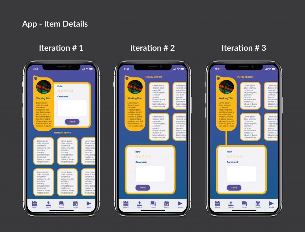 Iterate & Validate - UX Portfolio